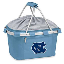 Picnic Time® Sky Blue Collegiate Metro Basket - University of North Carolina
