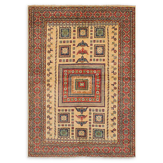 Alternate image 1 for ECARPETGALLERY  Finest Gazni 6'6 x 9'2 One of a Kind Rug in Ivory