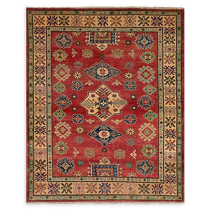 Alternate image 1 for ECARPETGALLERY One of a Kind Finest Gazni 4'11 x 6'4 Area Rug in Red