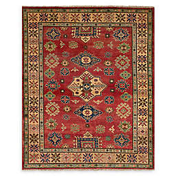 ECARPETGALLERY  Finest Gazni 4'11 x 6'4 One of a Kind Rug in Red