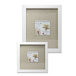 Lawrence Frames Linen-Lined Shadow Box Frame