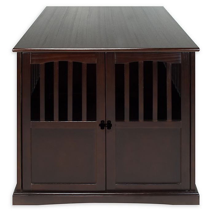 Chy Extra Large Pet Crate End Table In Espresso View A Larger Version Of This Product Image