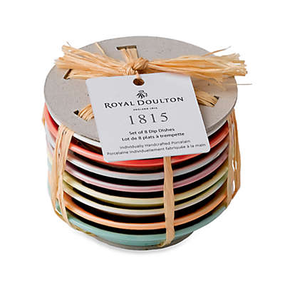 Royal Doulton® 1815 Tapas Dip Trays (Set of 8)