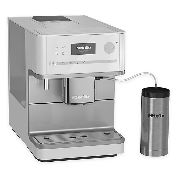 Alternate image 1 for Miele CM6350 Countertop Coffee System in White