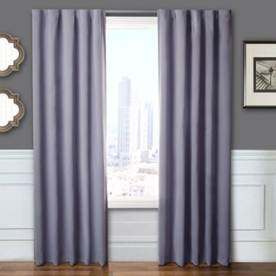 Blackout Window Curtain Panel Pair With Hardware Bed