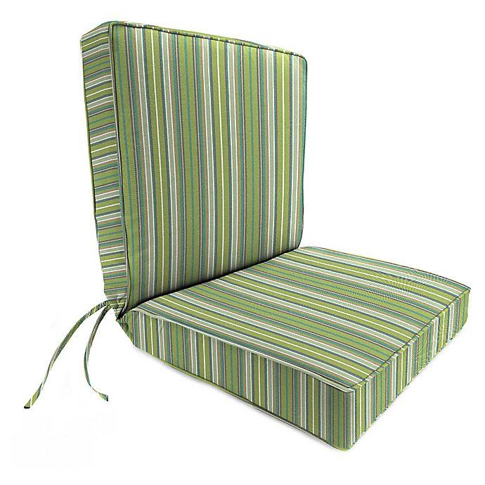 Stripe 44 Inch X 22 Inch Dining Chair Cushion In Sunbrella Fabric Bed Bath And Beyond Canada