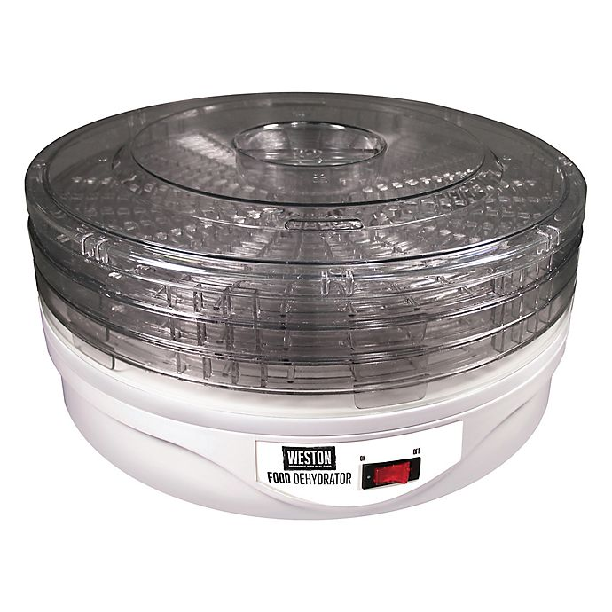 Alternate image 1 for Weston® 4-Tray Food Dehydrator in White