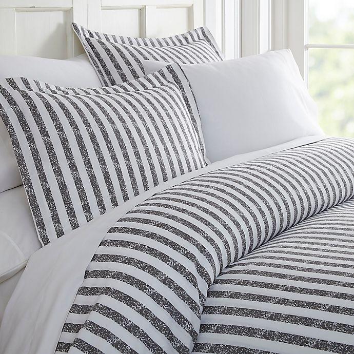 Alternate image 1 for Rugged Stripes 3-Piece Duvet Cover Set