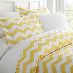 Arrow Twin Duvet Cover Set in Yellow