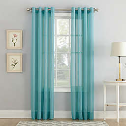 Voile Sheer Grommet Window Curtain Panel