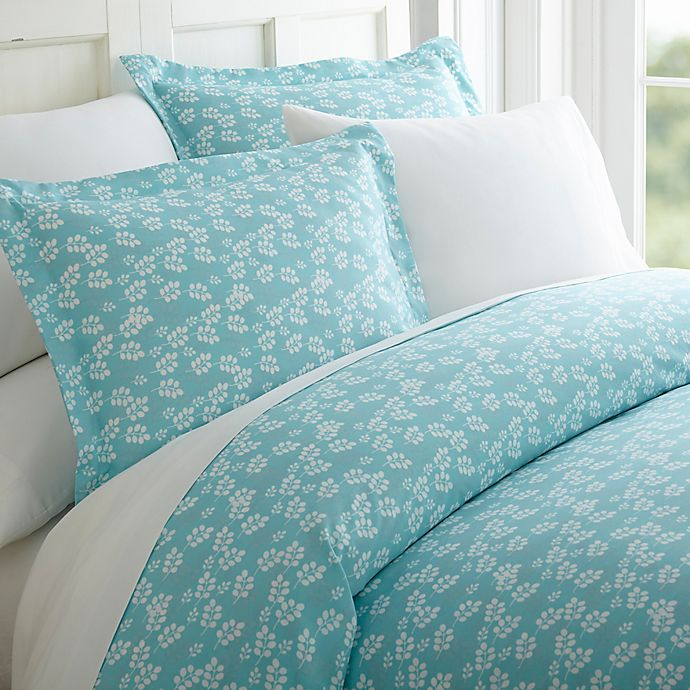 Alternate image 1 for Wheatfield 3-Piece Twin Duvet Cover Set in Pale Blue