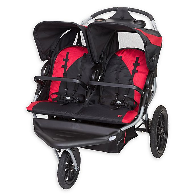 Alternate image 1 for Baby Trend® Navigator Lite Double Jogger