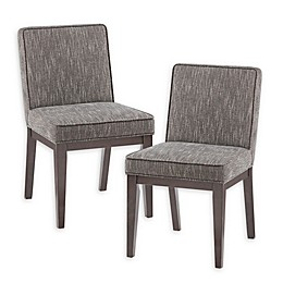 Madison Park Jericho Dining Chairs in Brown (Set of 2)