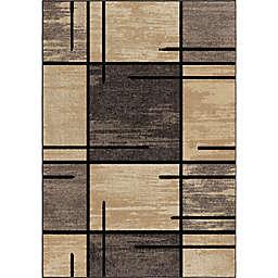 Orian Rugs Majestic Shag Armada 7'10 x 10'10 Area Rug in Charcoal