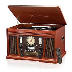 Victrola™ Nostalgic Bluetooth Record Player in Vintage Wood