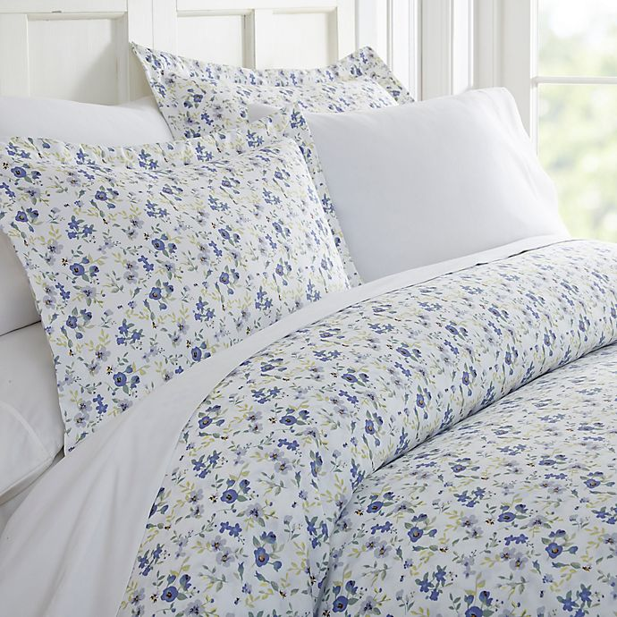 Alternate image 1 for Blossoms 3-Piece Duvet Cover Set