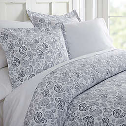 Home Collection 3-Piece Coarse Paisley Duvet Cover Set