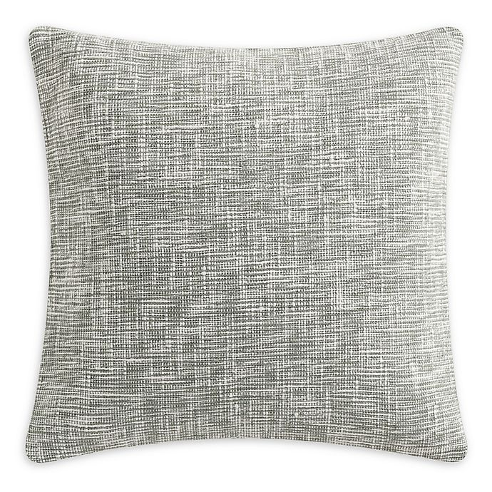 Alternate image 1 for KAS ROOM Kemit Yarn Dye Square Throw Pillow in Green