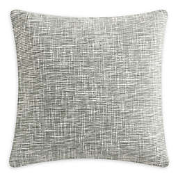 KAS ROOM Kemit Yarn Dye Square Throw Pillow in Green