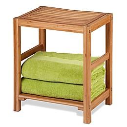 Honey-Can-Do Bamboo Spa Bench