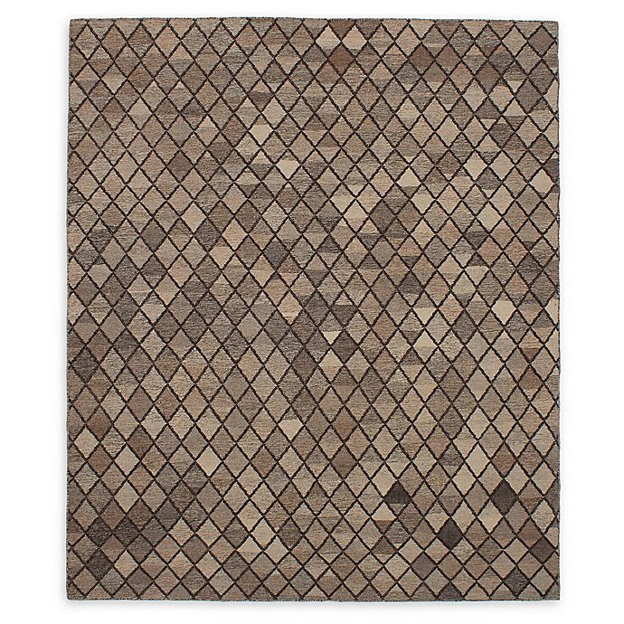 Alternate image 1 for ECARPETGALLERY Izmir 8'6 x 10' Hand-Woven One of a Kind Rug in Cream/Tan