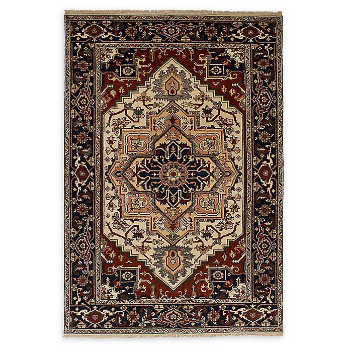 Alternate image 1 for ECARPETGALLERY Serapi Heritage 5'11 x 8'11 One of a Kind Rug in Cream/Red