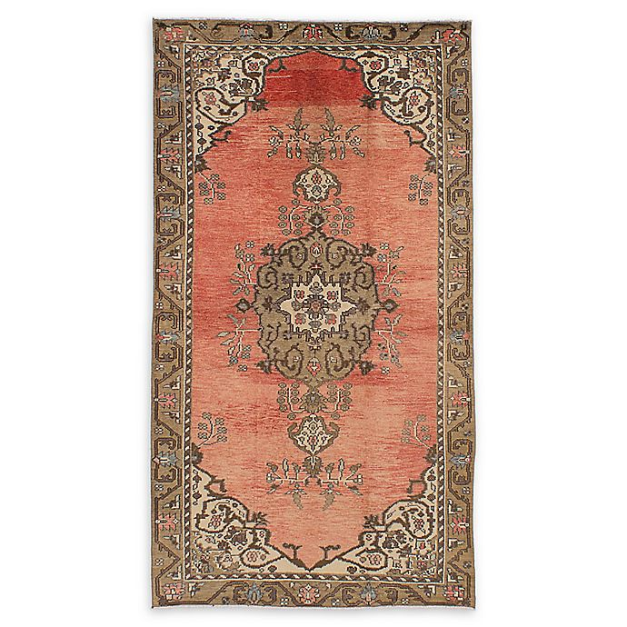 Alternate image 1 for ECARPETGALLERY Konya Anatolian 4'6 x 8'7 One of a Kind Rug in Copper