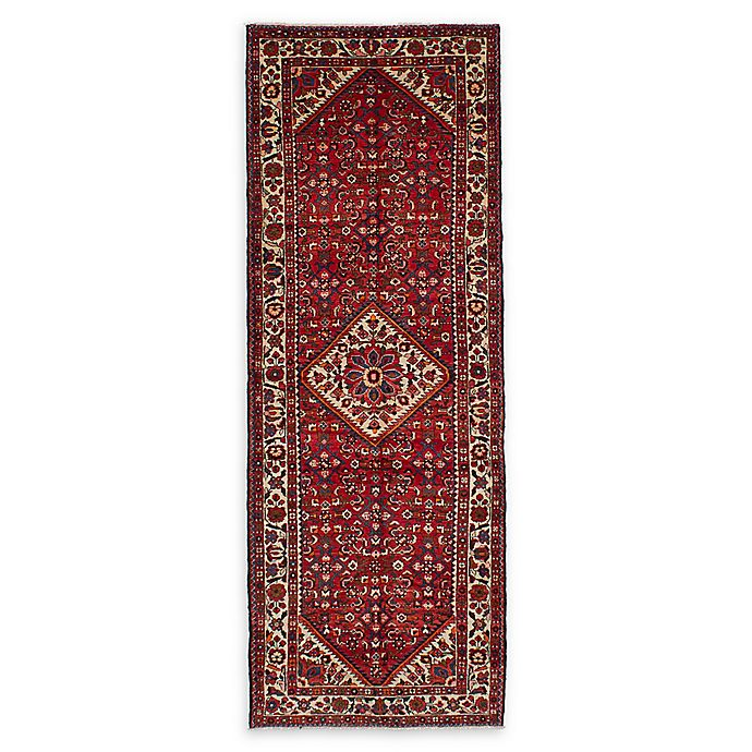Alternate image 1 for ECARPETGALLERY Borchelu 3'6 x 10'2 One of a Kind Rug in Red