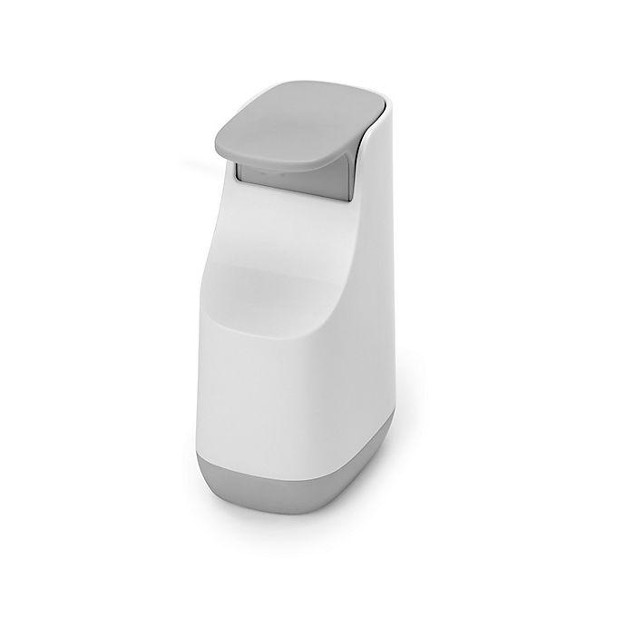 Alternate image 1 for Joseph Joseph® Slim™ Soap Dispenser in Grey/White