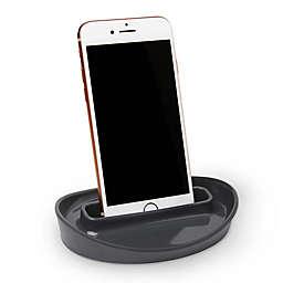 Umbra® Curvino Phone Holder in Charcoal