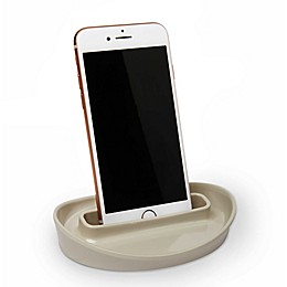 Umbra® Curvino Phone Holder in Linen