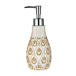 Popular Bath Seraphina Lotion Dispenser in Beige/Gold