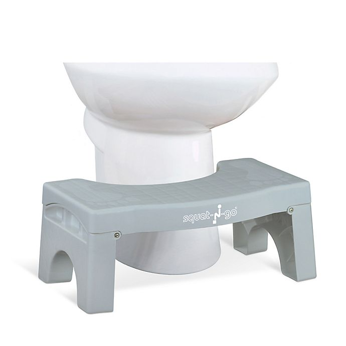 Squat N Go 7 Inch Foldable Toilet Stool Bed Bath Amp Beyond