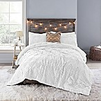 Anthology™ Chevron Tufted Twin/Twin XL Comforter Set in White