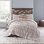 Anthology™ Chevron Tufted Twin/Twin XL Comforter Set in Mauve