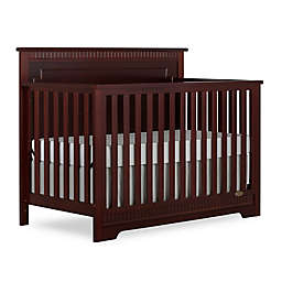 Dream On Me Morgan 5-in-1 Convertible Crib in Cherry
