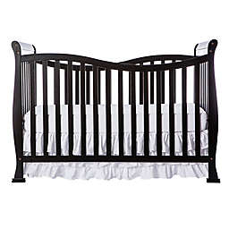 Dream On Me Violet 7-in-1 Convertible Crib in Black