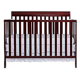 Dream On Me Alissa 4-in-1 Convertible Crib in Cherry