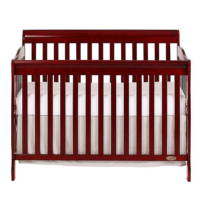 84b04573e17 Dream On Me Ashton 5-in-1 Convertible Crib in Cherry