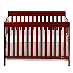 Dream On Me Ashton 5-in-1 Convertible Crib in Cherry