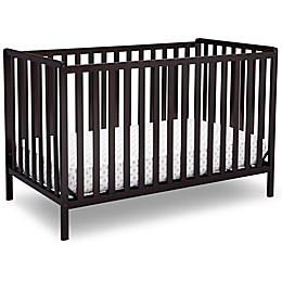 Delta™ Heartland 4-In-1 Convertible Crib in Chocolate