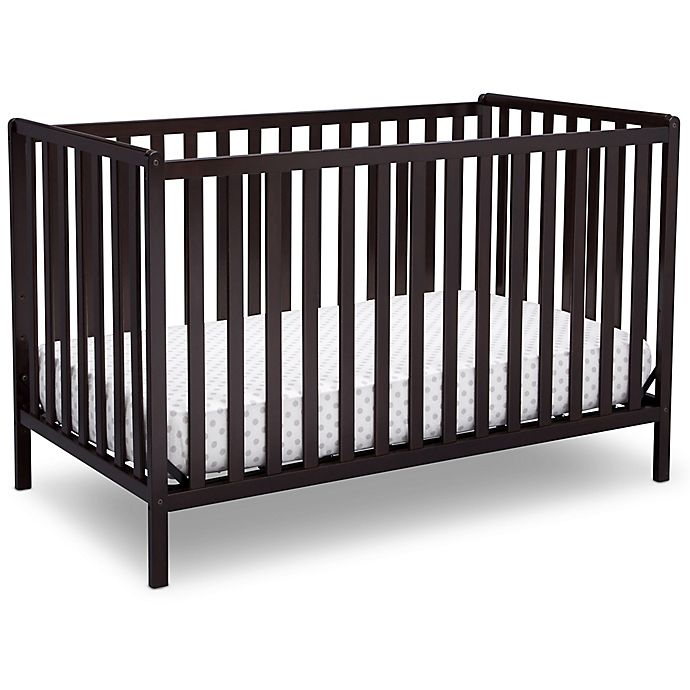 Alternate image 1 for Delta™ Heartland 4-In-1 Convertible Crib in Chocolate