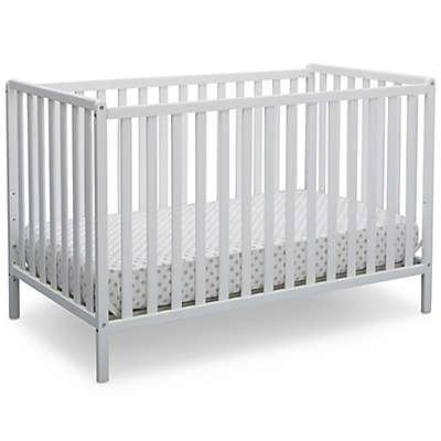 Delta Heartland 4-In-1 Convertible Crib in White