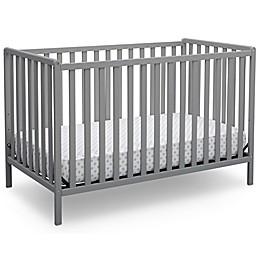 Delta™ Heartland 4-In-1 Convertible Crib in Grey