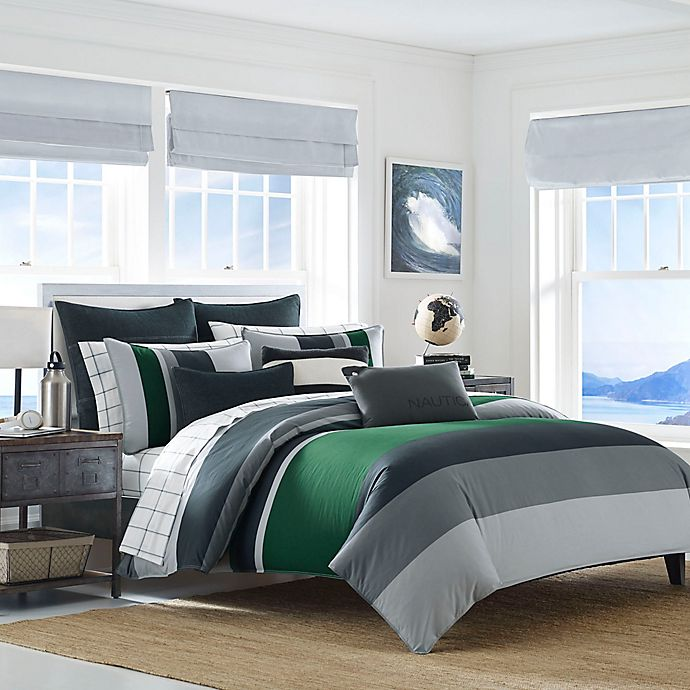 Alternate image 1 for Nautica® Prescott Reversible Comforter Set