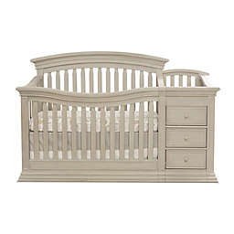 Sorelle Sedona 4-in-1 Convertible Crib and Changer in Rustic Taupe