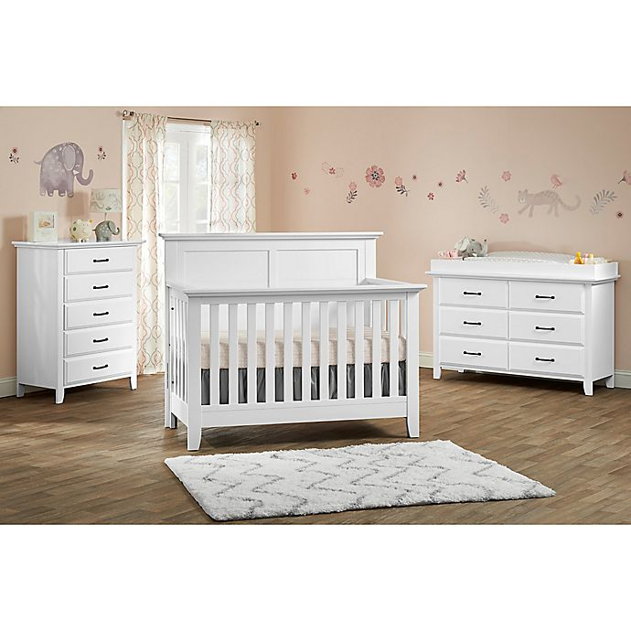 Oxford Baby Stone Haven Nursery Furniture Collection In White