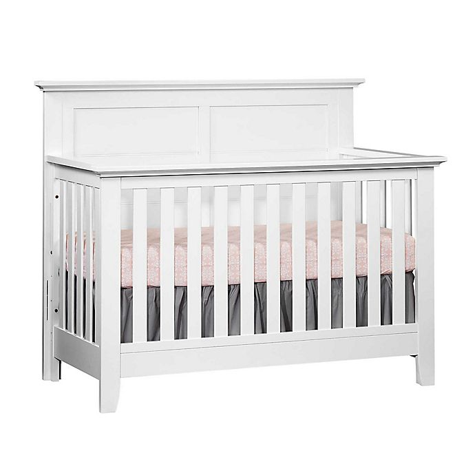 Alternate image 1 for Oxford Baby Stone Haven 4-in-1 Convertible Crib in White