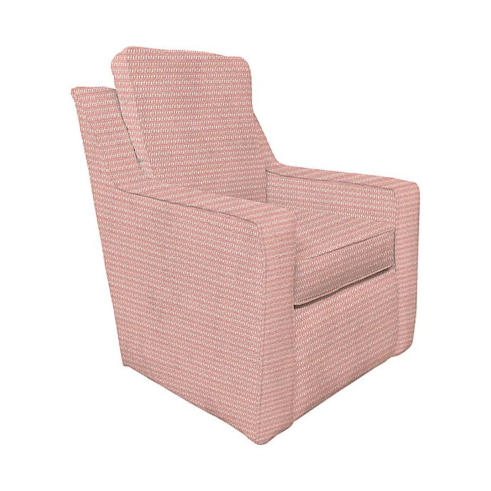 Alternate image 1 for The 1st Chair™ Ellis Swivel Glider Chair in Flare