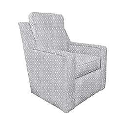 The 1st Chair™ Ellis Swivel Glider Chair in Gemstone